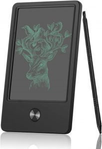 Pocket Pad NEWYES 4.5 Inches LCD Writing Tablet Handheld Size Portable Drawing Board (Black)