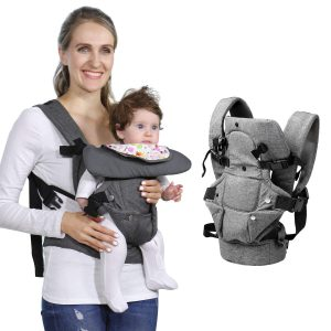 Baby Soft Carrier 4-in-1 Ergonomic Convertible Carrier