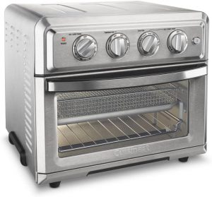 Cuisinart AirFryer Convection Toaster and Oven Silver Best Small Appliances