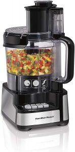 Hamilton Beach 12-Cup Stack & Snap Food Processor & Vegetable Chopper