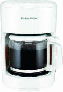 Proctor-Silex Compact 10 Cup Coffee Maker