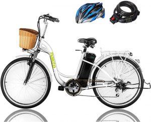 NAKTO 26 250W Cargo Electric Bicycle Sporting
