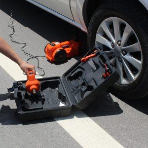 2V DC 1 Ton Electric Hydraulic Floor Jack