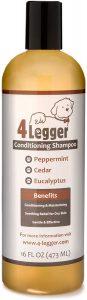 4Legger USDA Certified Organic Dog Shampoo and Conditioner
