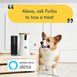 Furbo Dog Camera Treat Tossing Full HD Wifi Pet Camera and 2-Way Audio