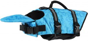 PETCEE Dog Life Jacket with Buoyancy, Adjustable Belts and Rescue Grab