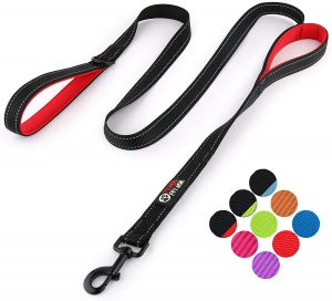 Primal Pet Gear 6ft Dual Handle Dog Leash - Medium and Large Dogs
