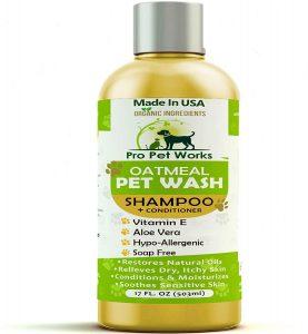 Pro Pet Works All Natural Organic Oatmeal Pupp Pet Shampoo