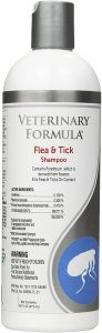 Veterinary Formula Clinical Care Flea and Tick Shampoo for Dogs and Cats