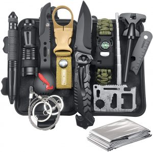 Gifts for Men Dad Husband, Survival Gear and Equipment 12 in 1