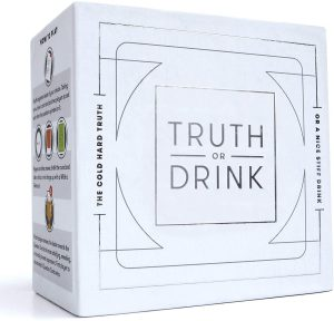 Truth or Drink Fun Drinking Card Game for Adults