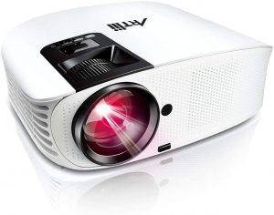 ARTlii HD Projector 1080P Support Home Theater Projector