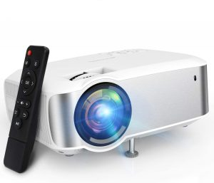 Projector, TOPVISION 1080P Supported Video Projector