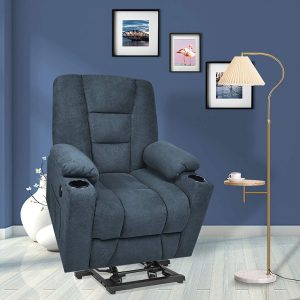 Maxxprime Free Moving Electric Power Lift Recliner Chair Sofa with Massage